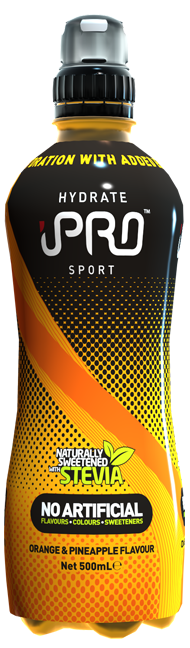 Straight On - UK pre2019 HYDRATE Black - Orange & Pineapple