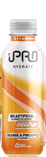 iPro Hydrate 300ml visual - Orange & Pineapple